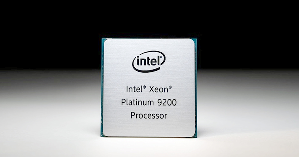 Hands-on with the Platinum 9200 CPU 56-core Xeon Intel's Biggest CPU Package Ever