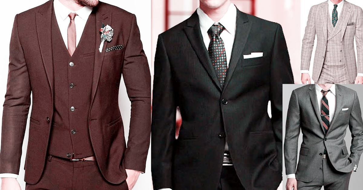 Top 5 trendy suit color for men - Google Gangs