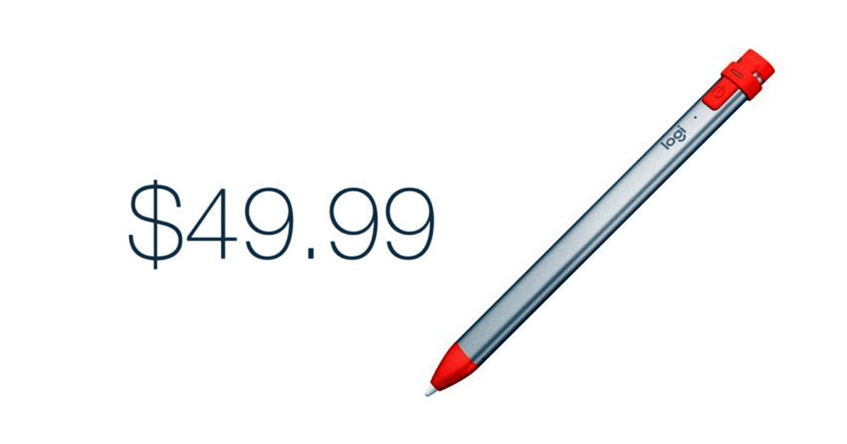 Crayon Logitech Offers iPad Apple Pencil Experience