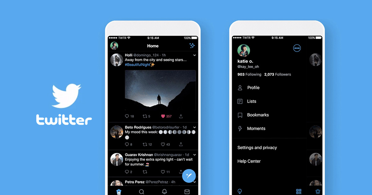 Twitter will launch it's Android 'Lights Out' mode soon