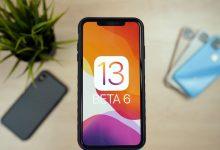 Apple has just released iOS 13 beta 6