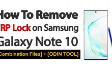 How To Remove FRP Lock on Samsung Galaxy Note 10