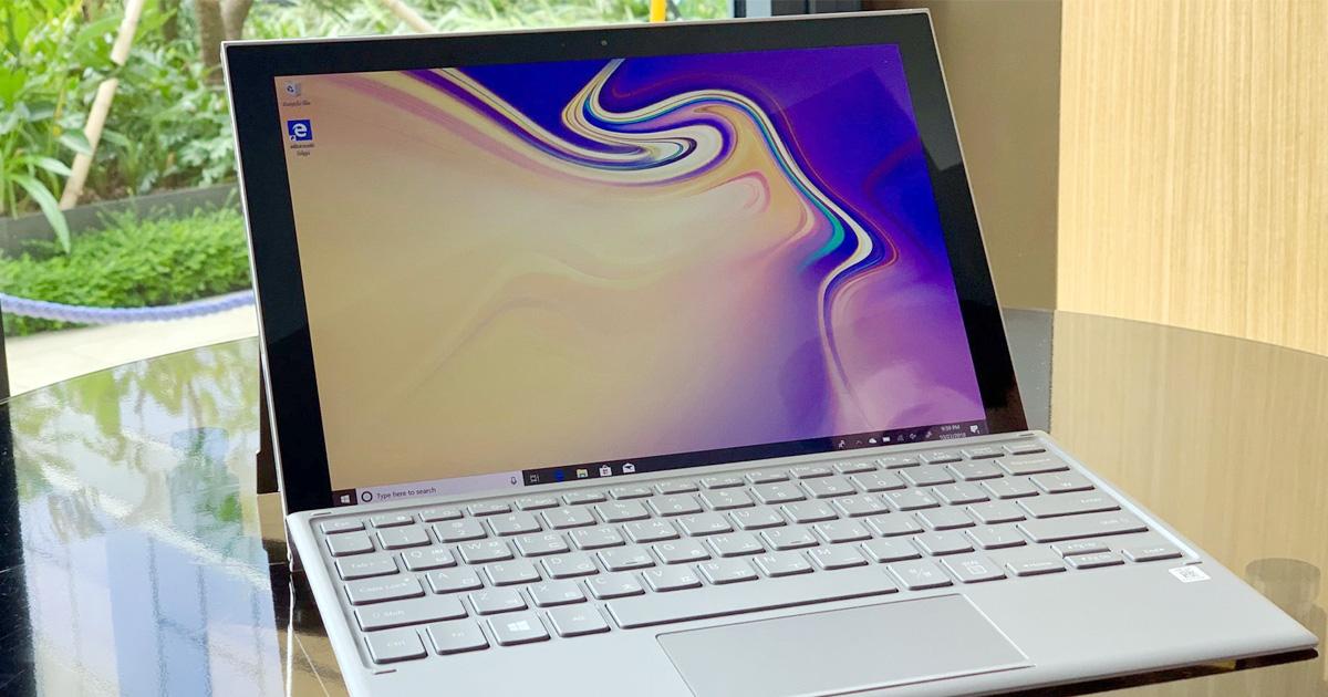 Samsung Galaxy Book S Press Renders Surface Online