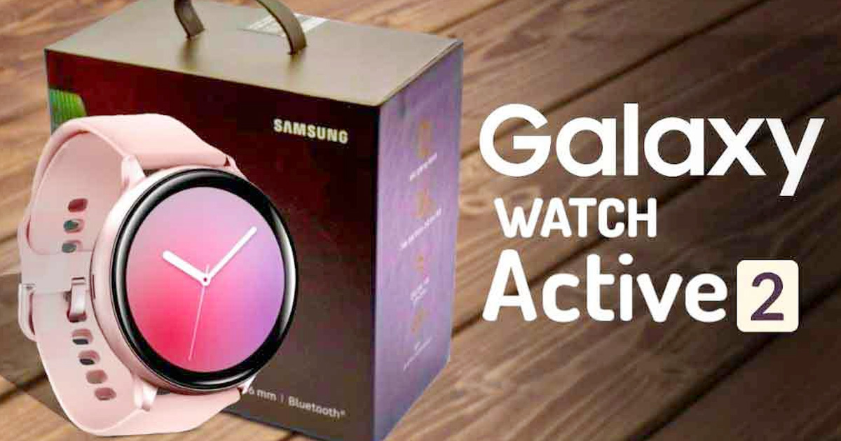 Samsung Galaxy Watch Active 2 comes with the ECG sensor