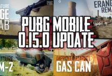 PUBG Mobile 0.15.0 Upgrade to Fuel Canisters Exploding and Ledge Grab Feature