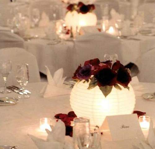 Beautiful Lantern Decor for Wedding Anniversary