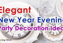 Elegant New Year Evening Party Decoration Ideas