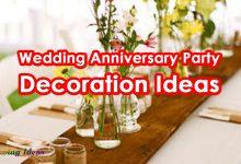 Wedding Anniversary Party Decoration Ideas